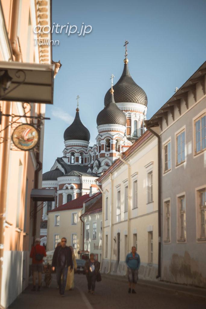 エストニア タリンのアレクサンドルネフスキー大聖堂