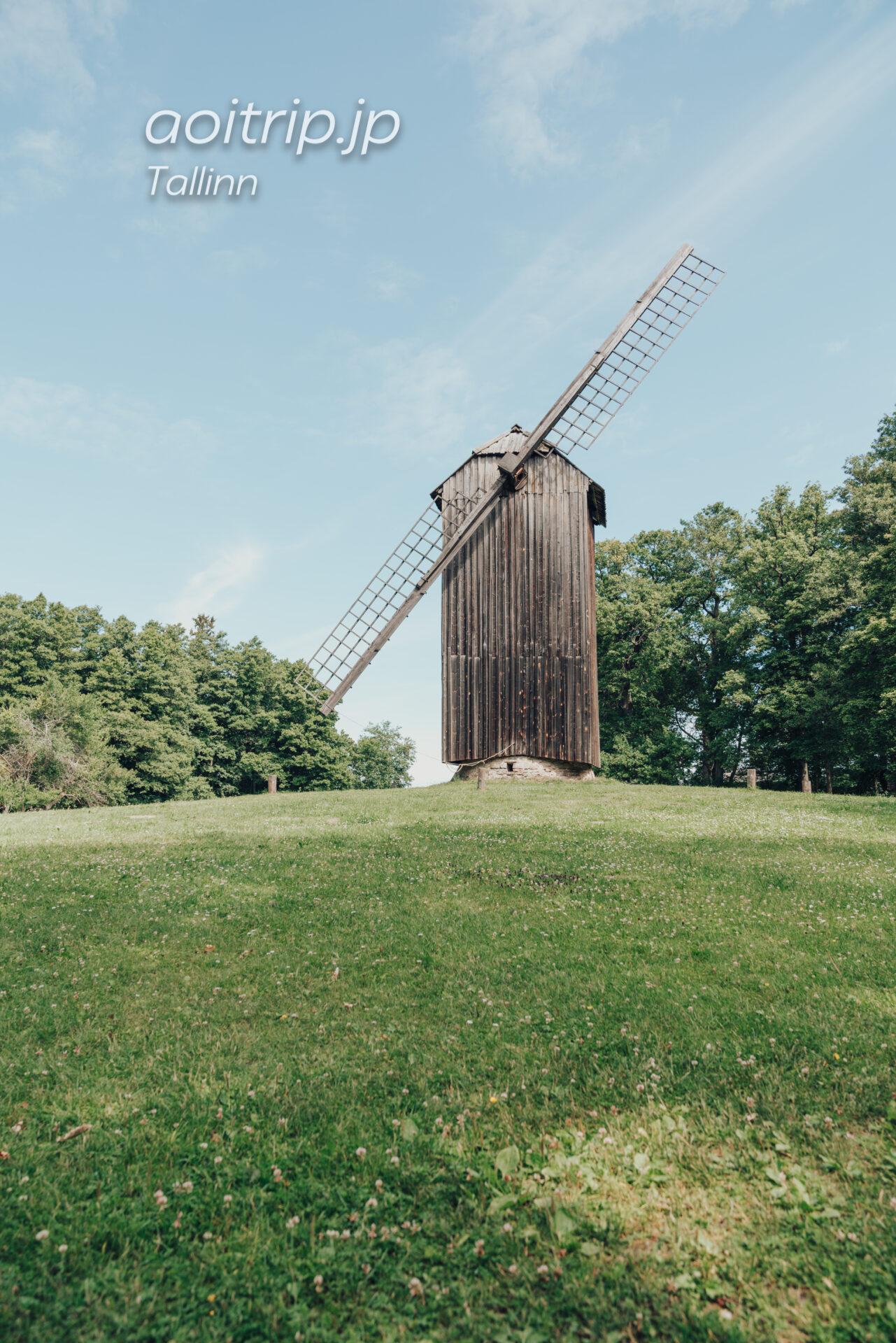 エストニア野外博物館 風車