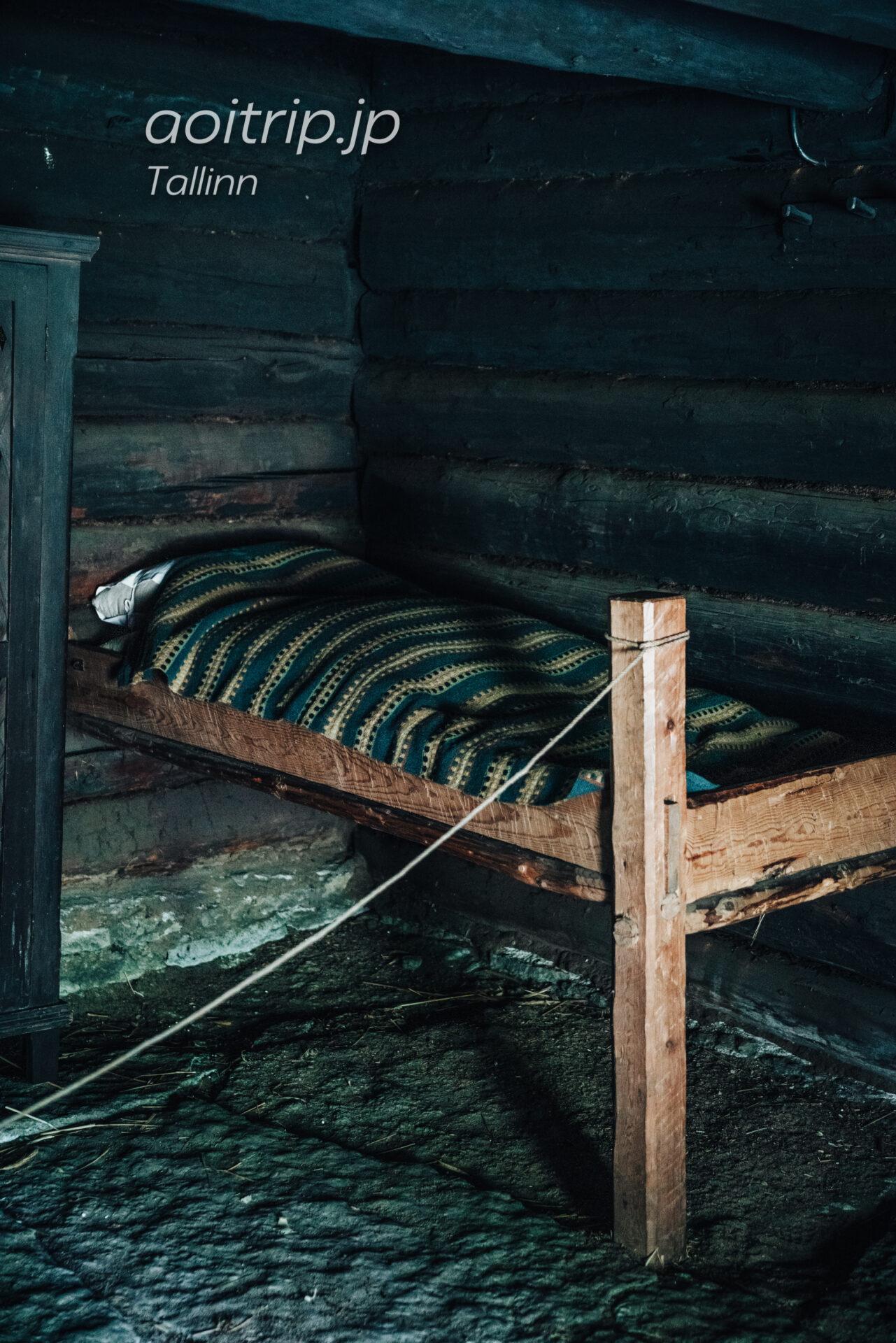 エストニア民族野外博物館(Estonian Open Air Museum)ベッド