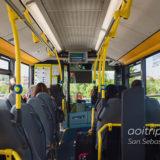 サンセバスティアン空港のバス
