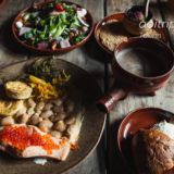 エストニア・タリンのレストラン「オルデハンザ(Oldehansa)」