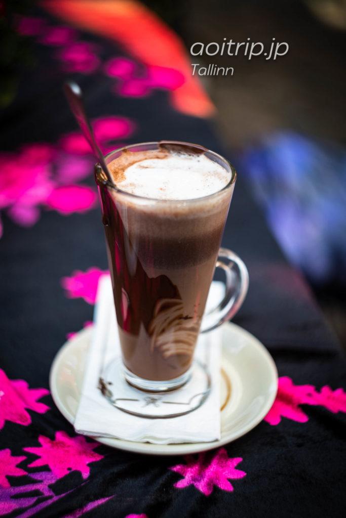 タリンのカフェ「Pierre Chocolaterie」