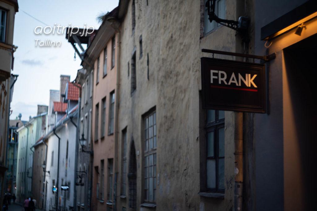 タリンのレストラン「Frank」