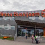 エストニアのタリンバスターミナル(Tallinna Bussijaam)