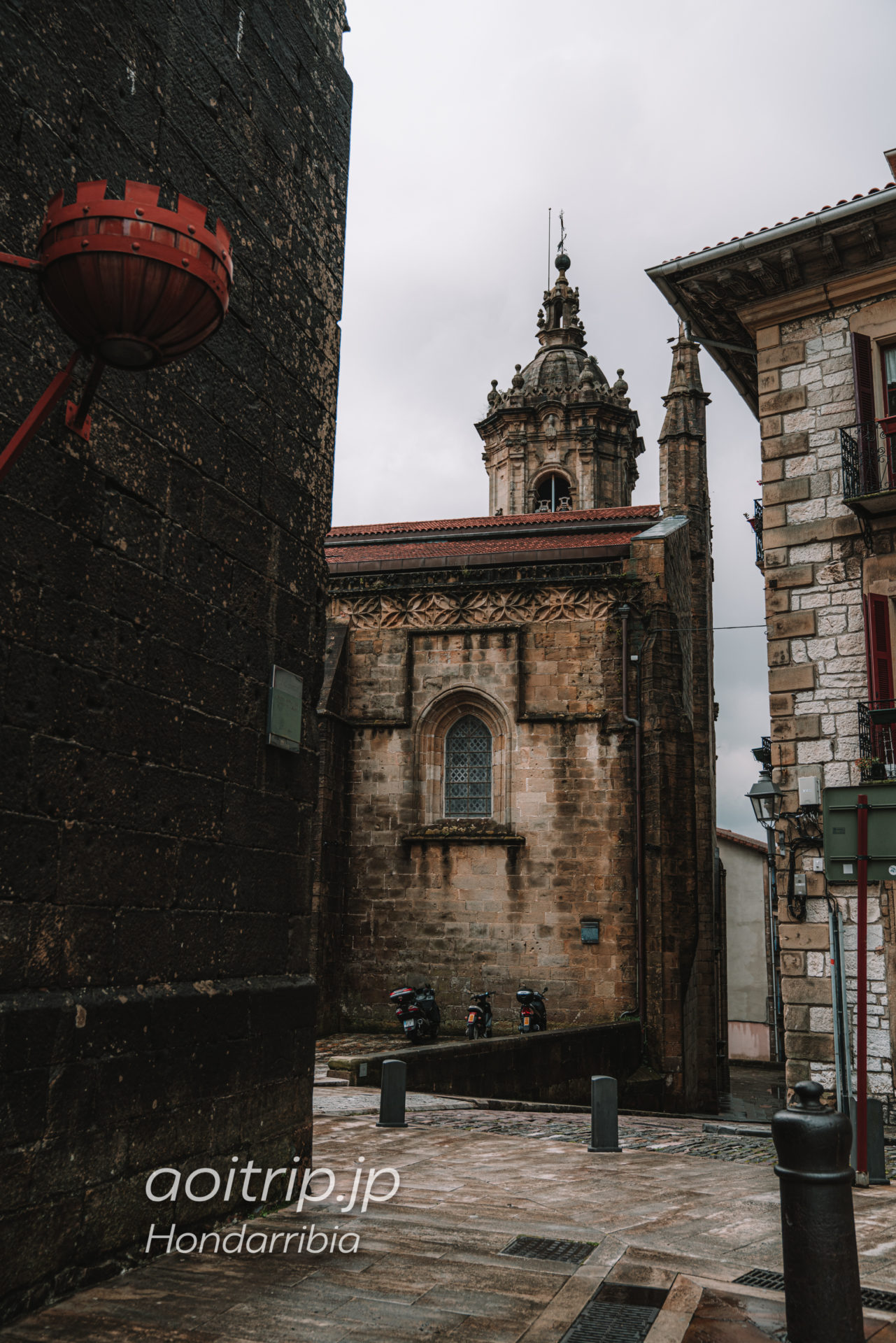Postcards and Photos from Hondarrribia, Spain