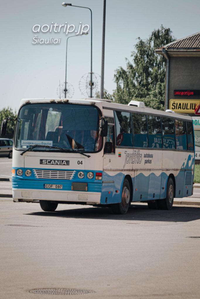 リトアニア シャウレイ十字架の丘 バス