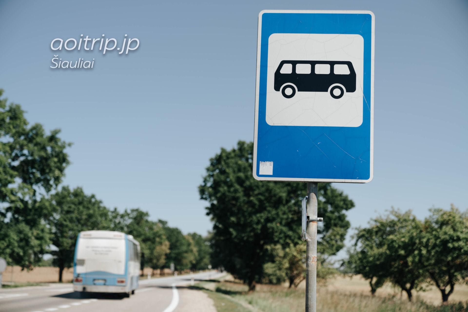 シャウレイバスステーションからシャウレイ十字架の丘までバスで行く方法