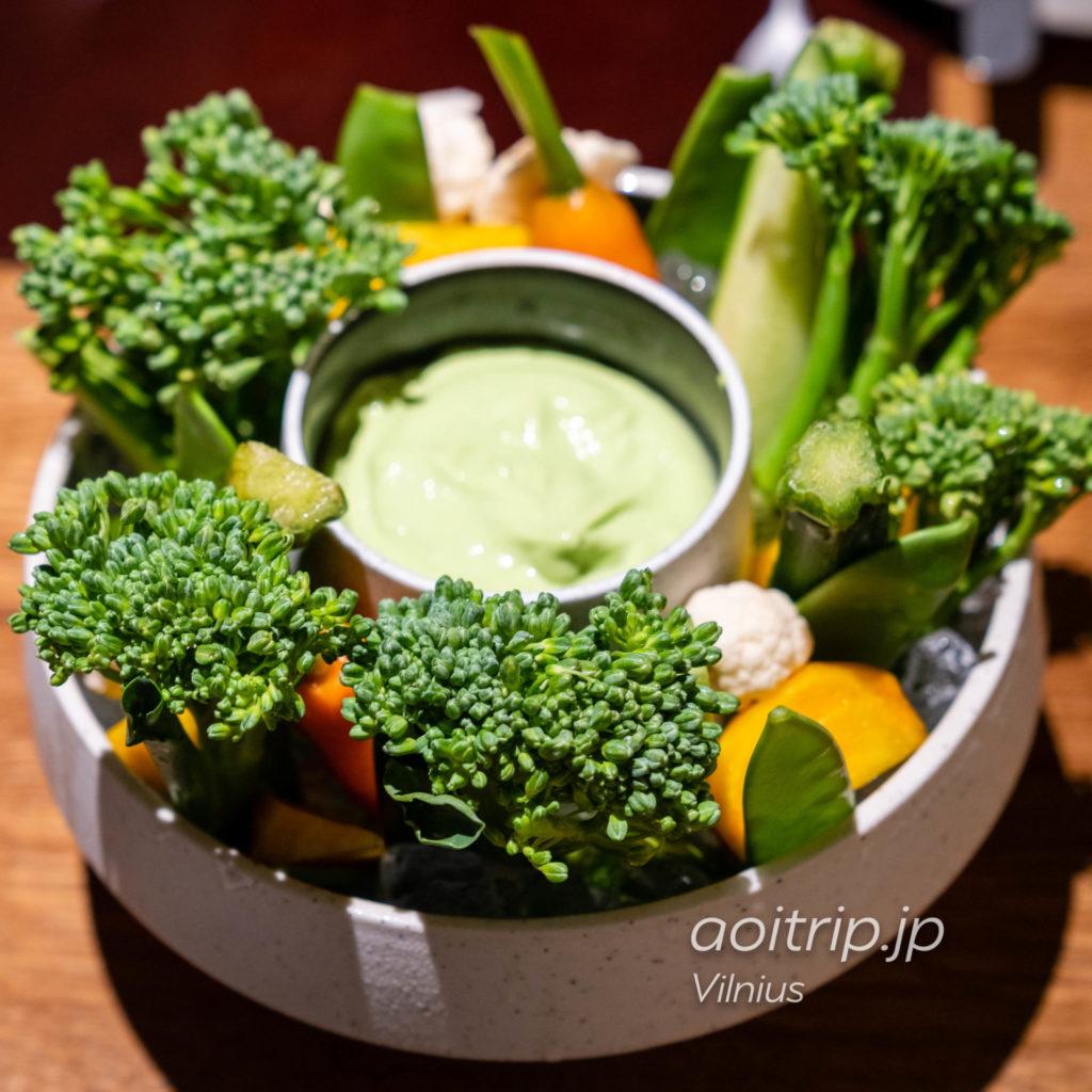 ヴィリニュスのレストラン14 Horses brasserieのVegetable bowl