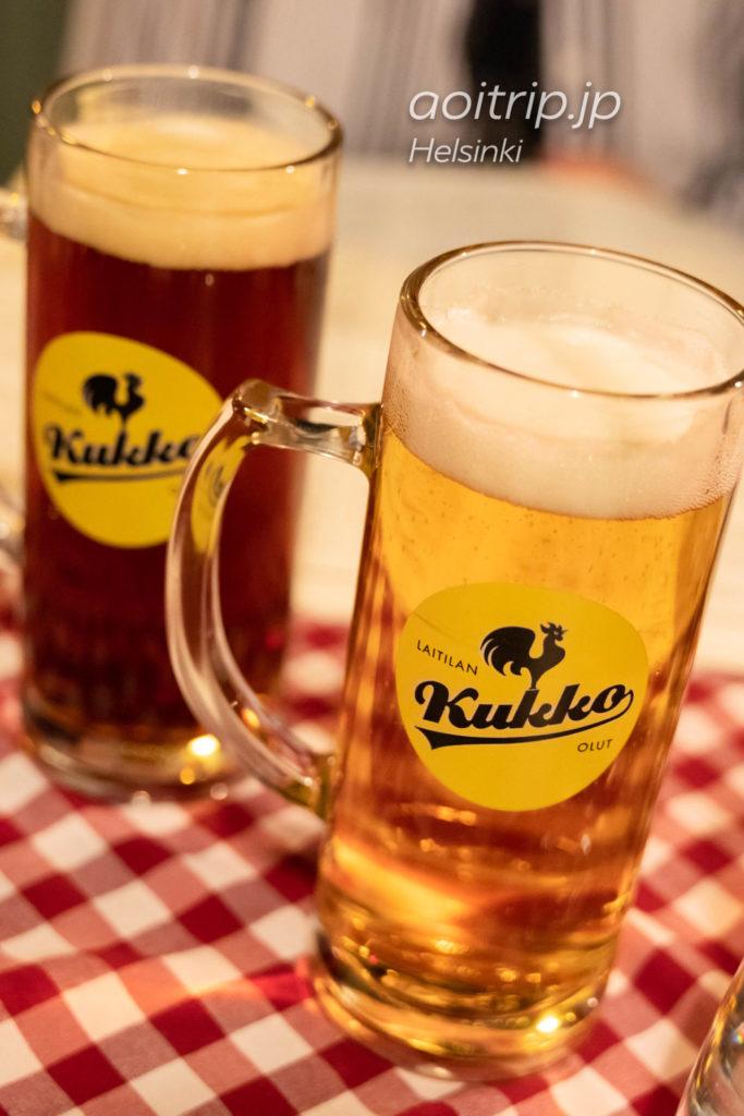 フィンランドのビールLaitilanのKukko