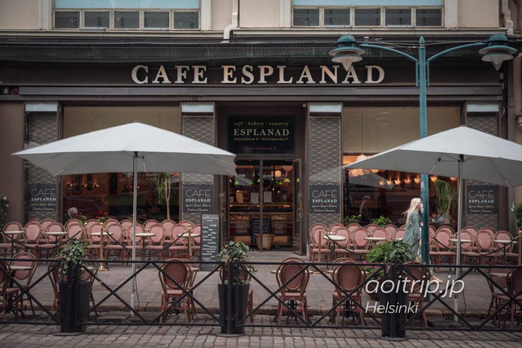 ヘルシンキのカフェ「Café Esplanad」