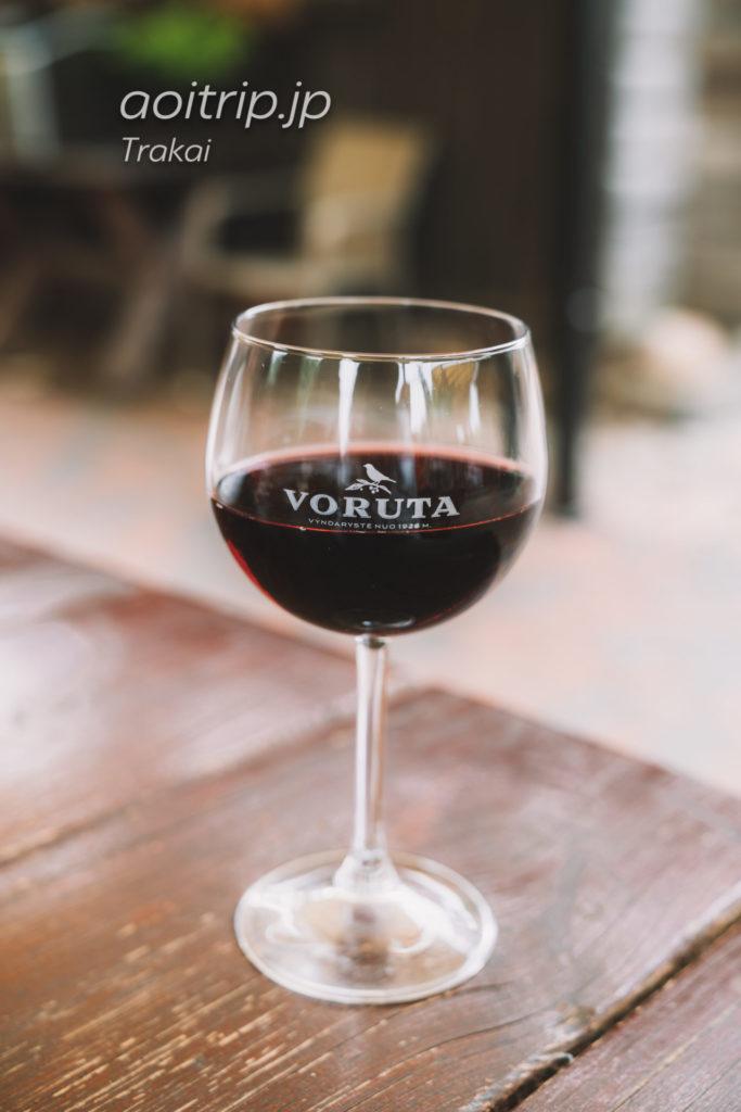 リトアニア トゥラカイのSenoji kibininė チェリー酒Voruta