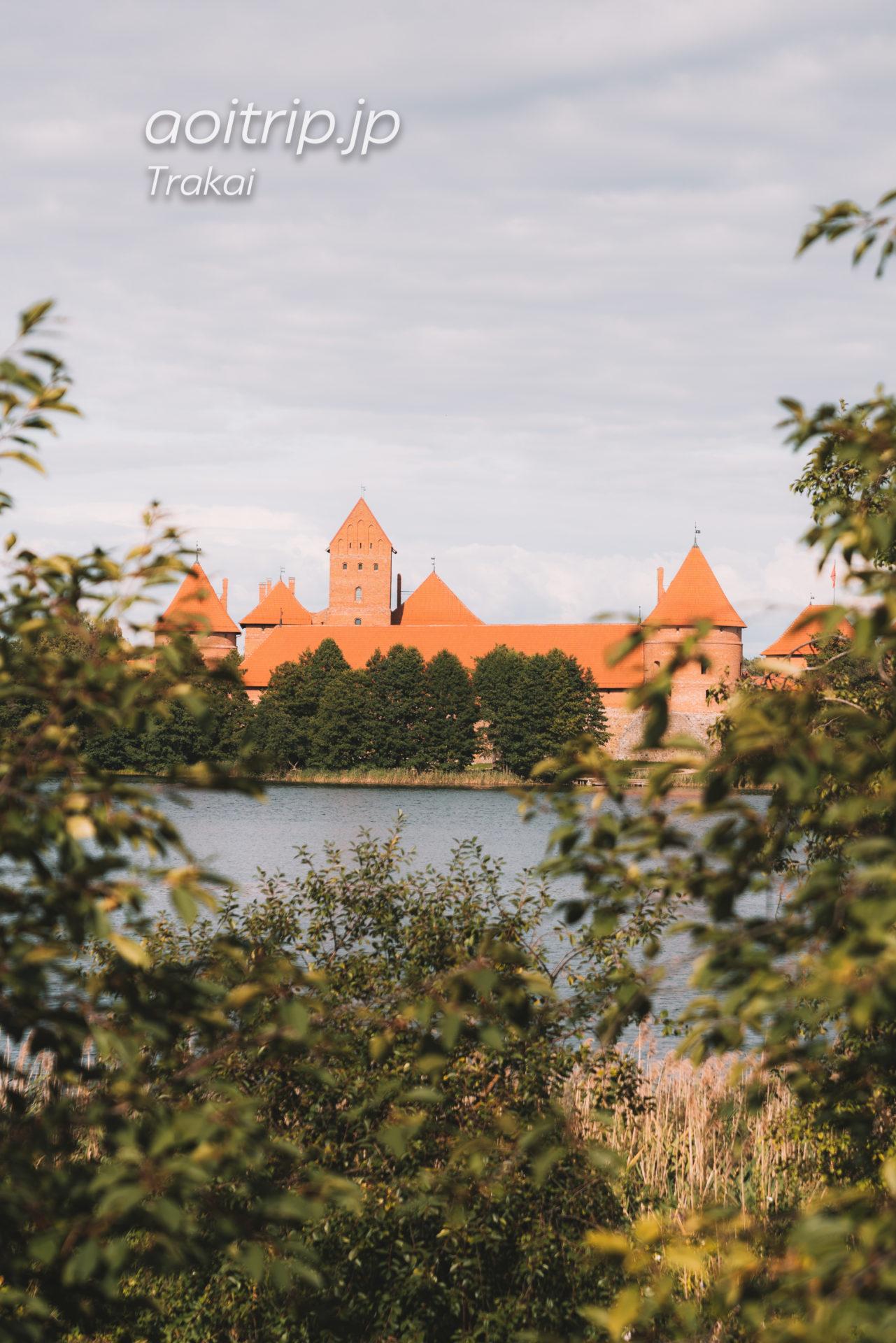 リトアニアのトゥラカイ城
