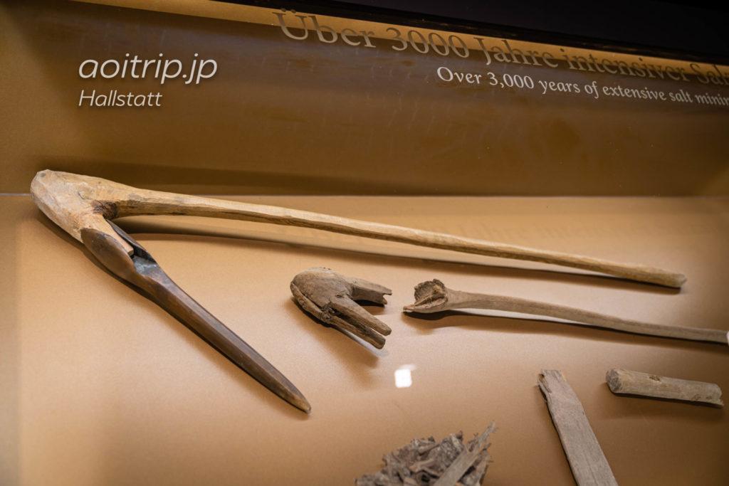 ハルシュタット塩坑 青銅器時代の塩採掘用の斧