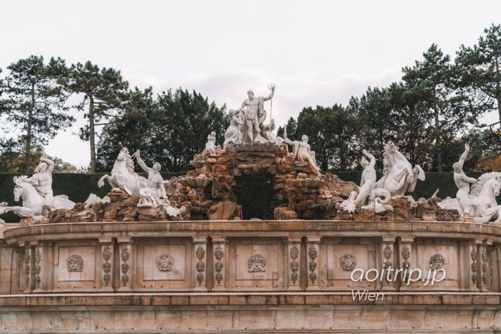 ウィーンのシェーンブルン宮殿 ネプチューンの泉 Schöner Brunnen