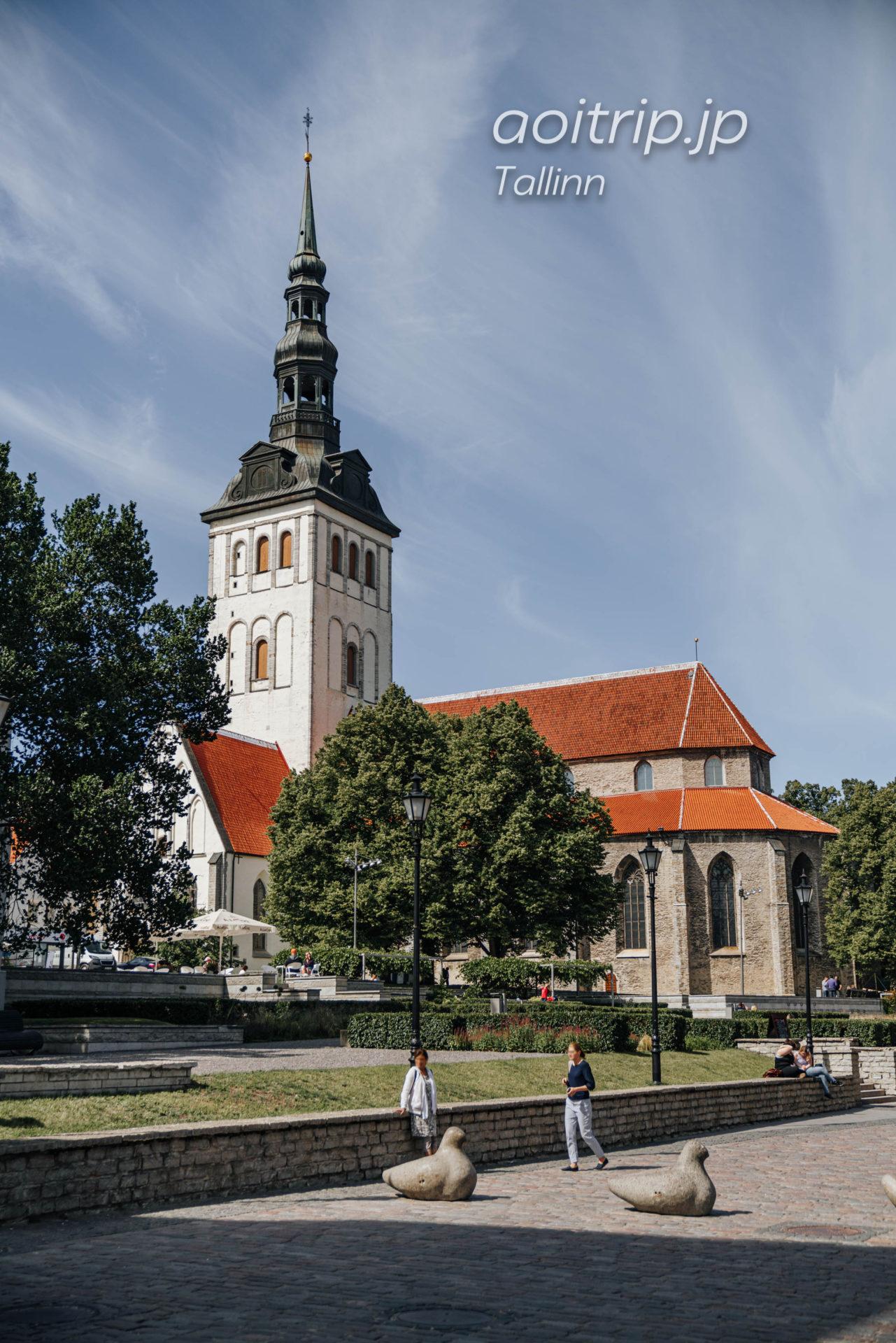 エストニア・タリン 聖ニコラス教会