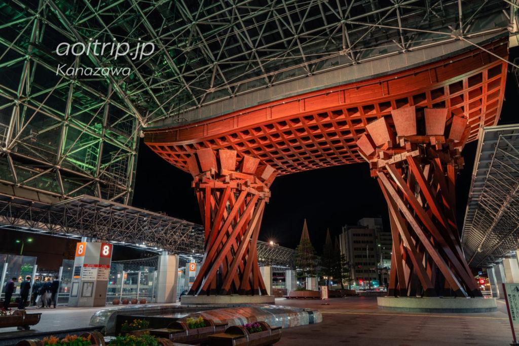 金沢駅 鼓門 Tsuzumi Mon Gate, Kanazawa Station