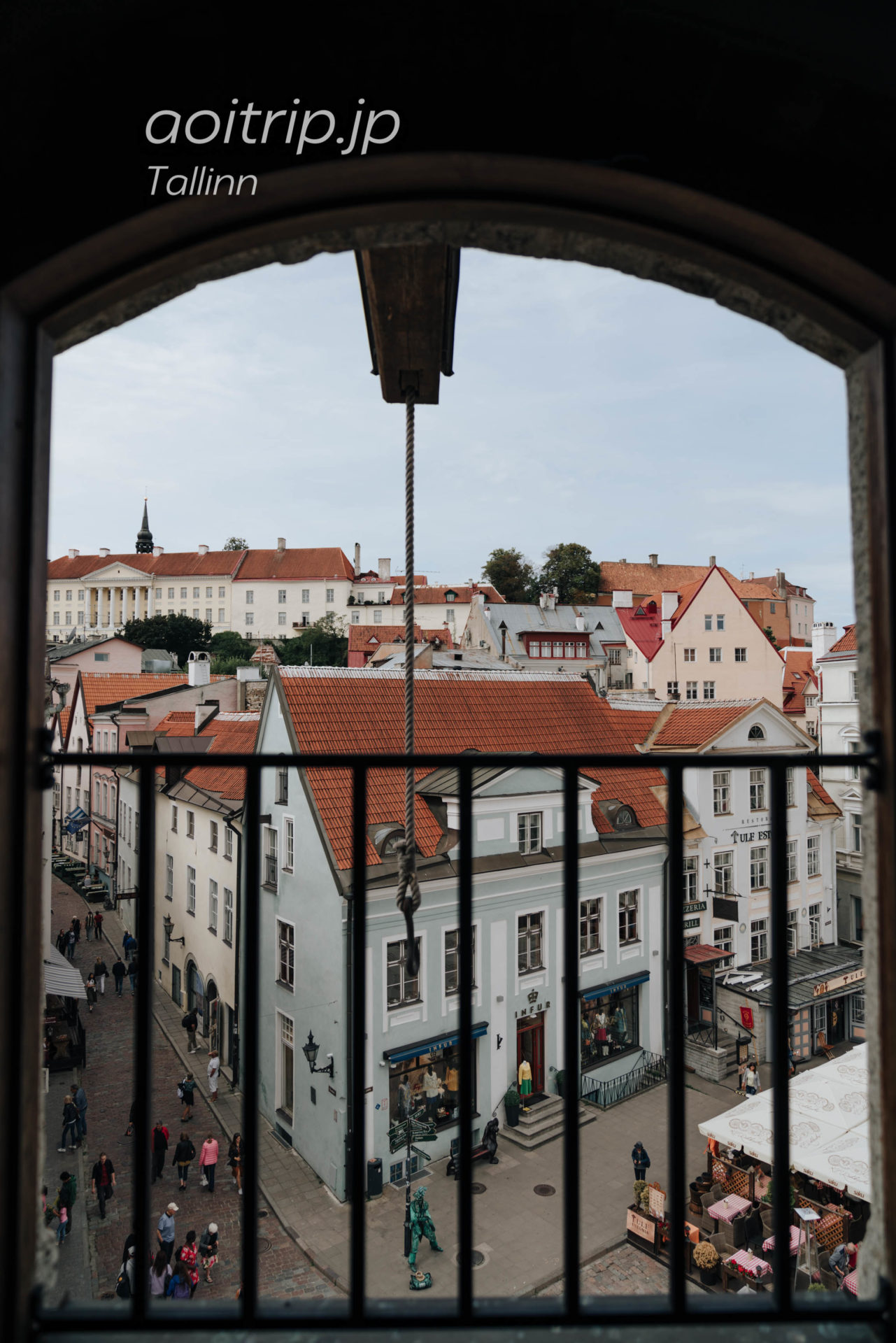 エストニア・タリンの旧市庁舎