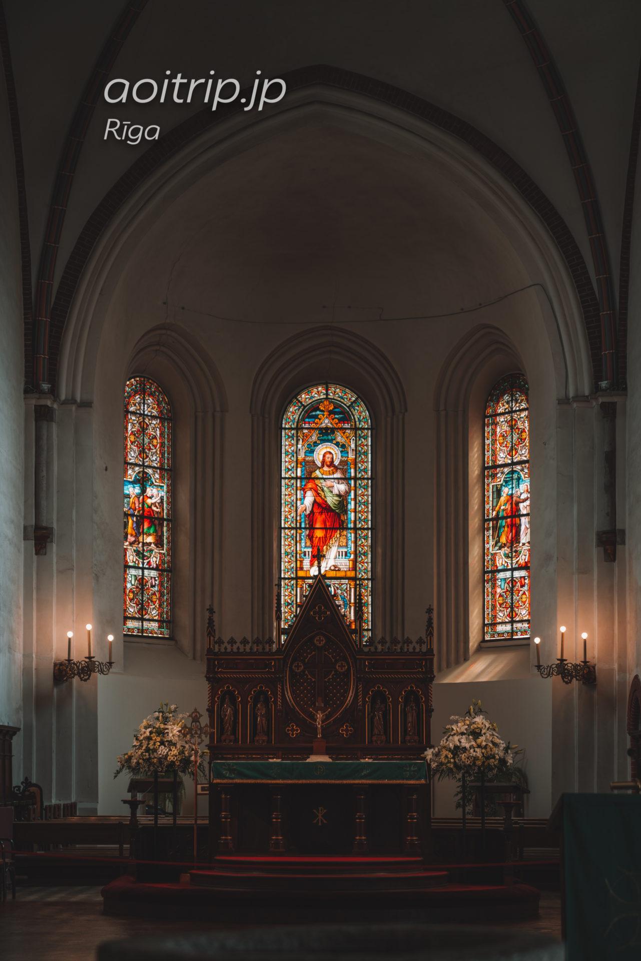 ラトビア リガ大聖堂の祭壇