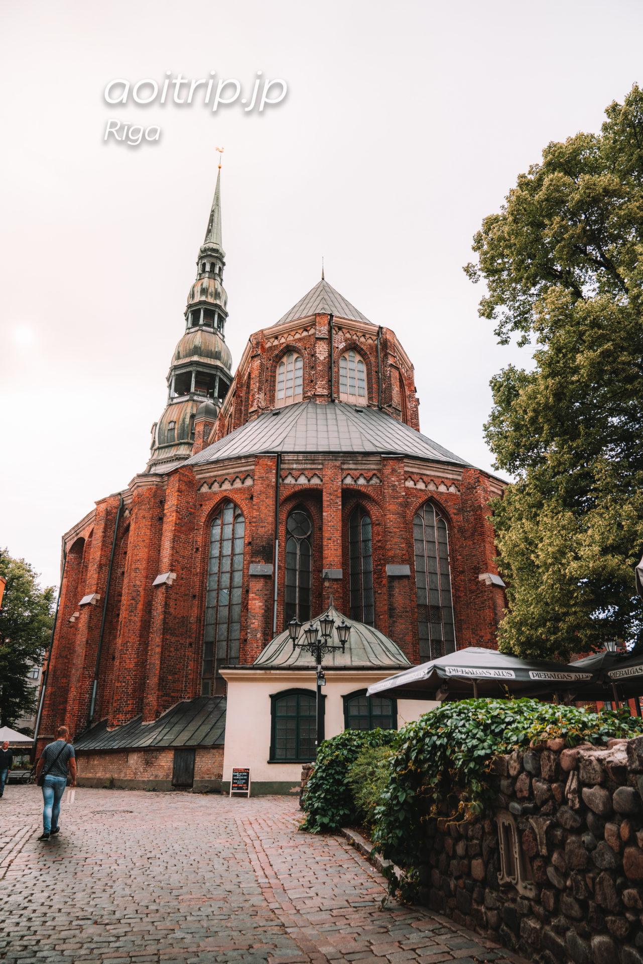 ラトビア リガの聖ペテロ教会