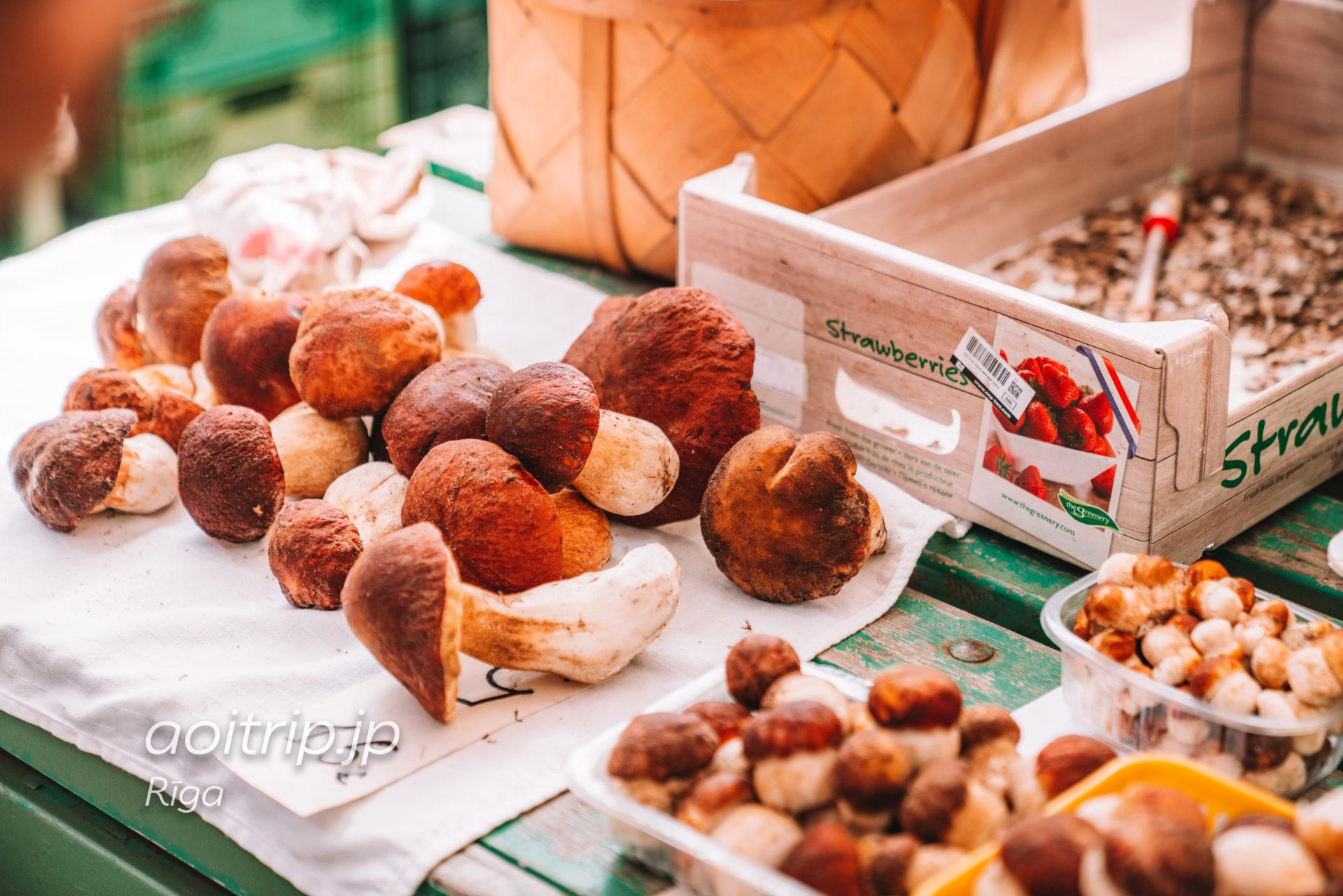 ラトビア リガの中央市場
