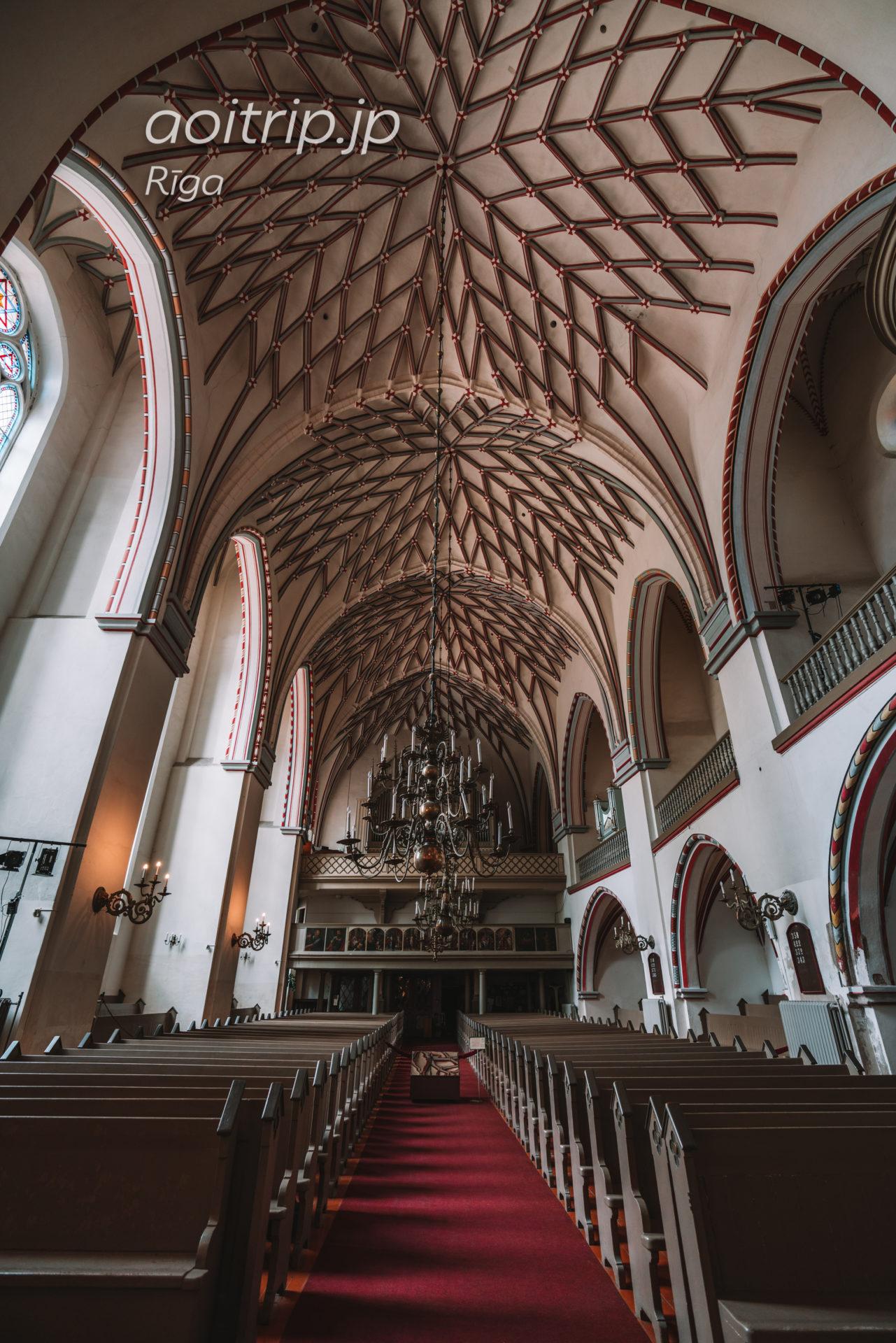 ラトビア リガの聖ヨハネ教会