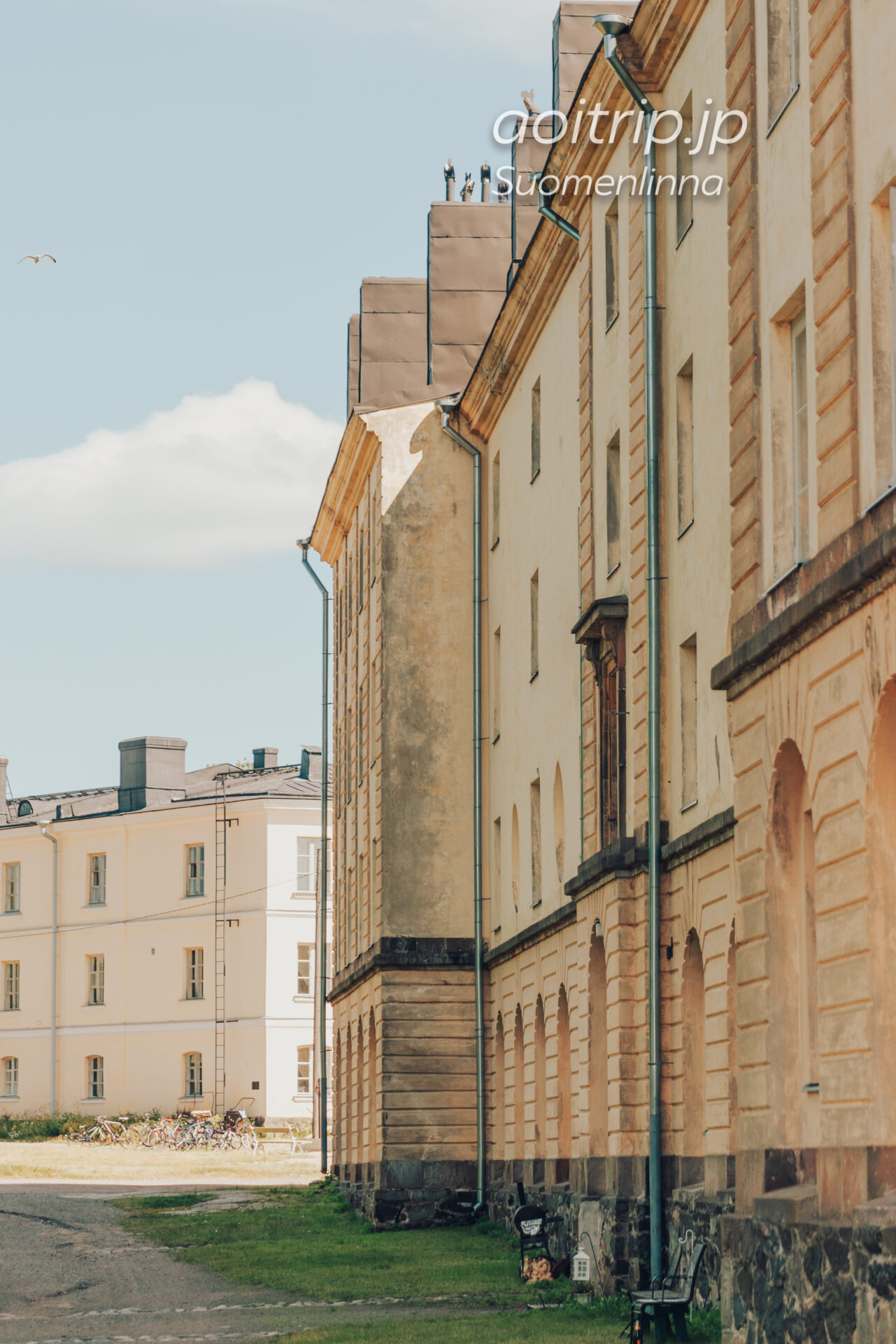 スオメンリンナの住宅