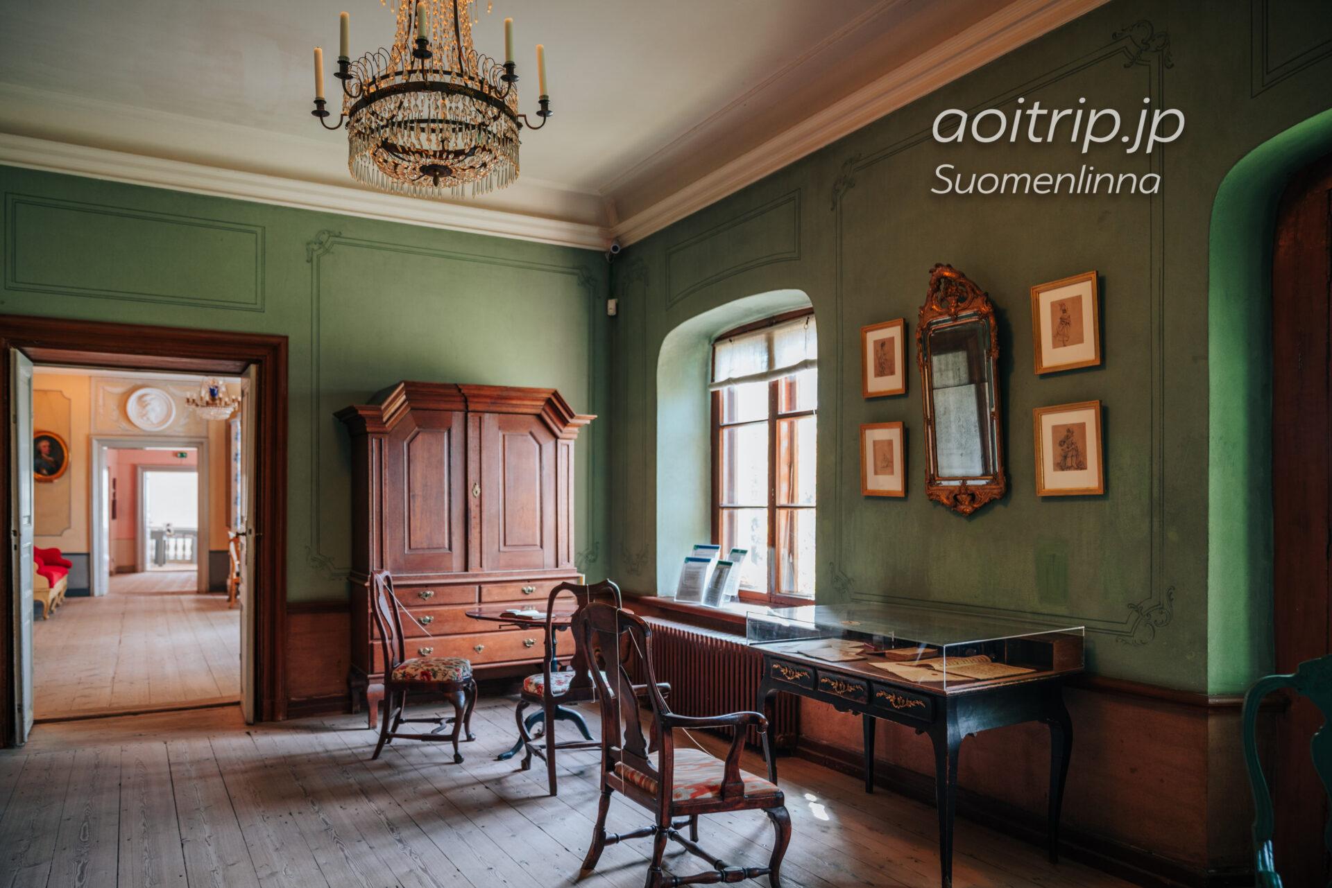 スオメンリンナの要塞 エーレンスヴァルド博物館