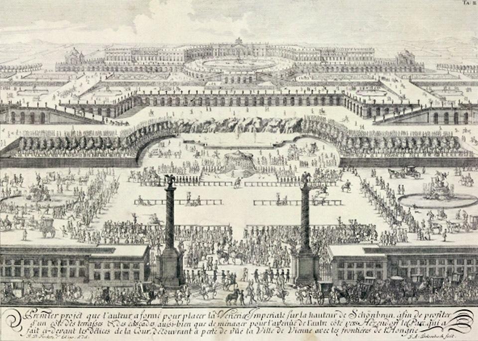 Schönbrunn Palace 1688