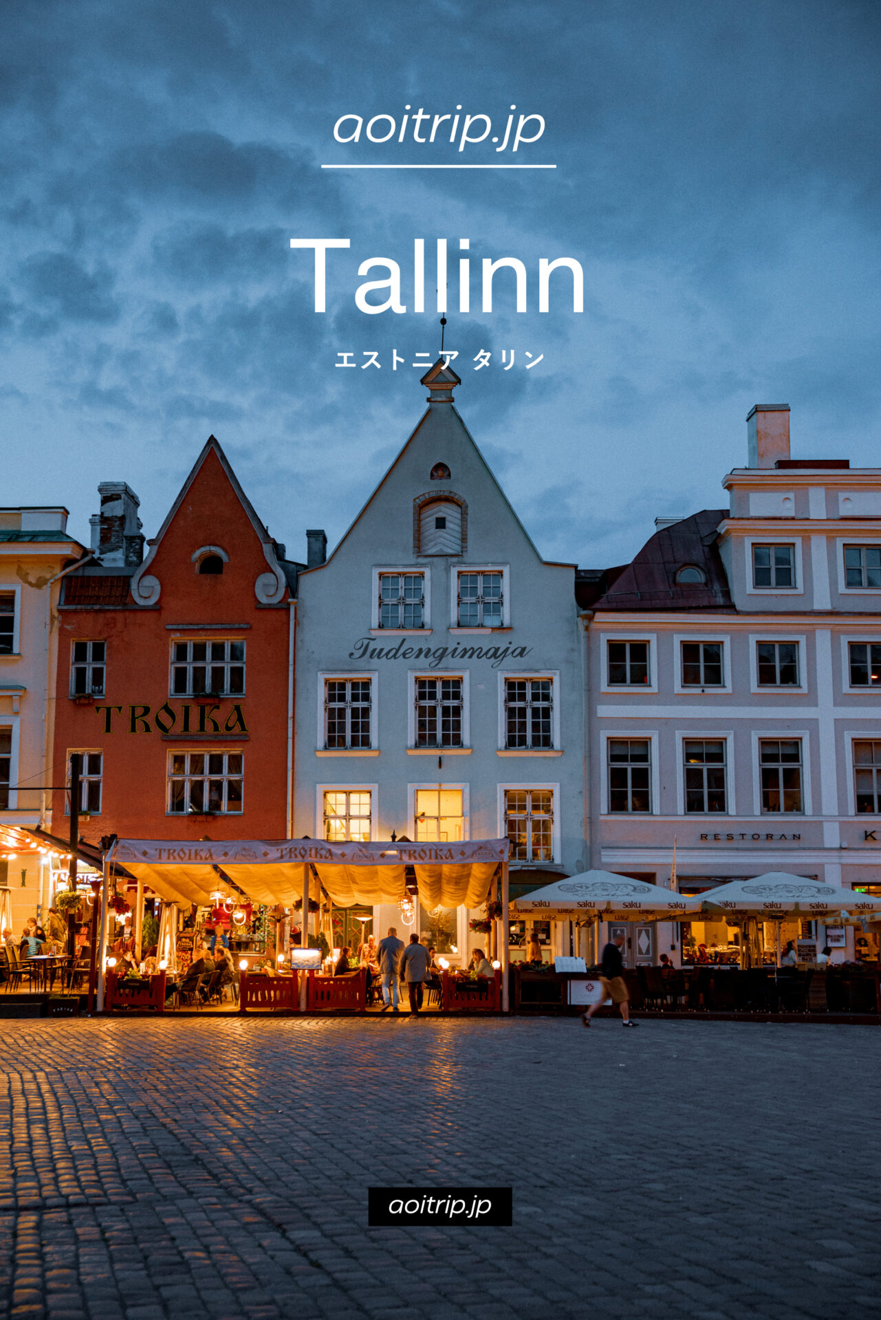 エストニア タリン観光の見どころ 旅行ガイド|Tallinn Travel Guide
