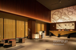 三井ガーデンホテル金沢 レセプション・ロビー