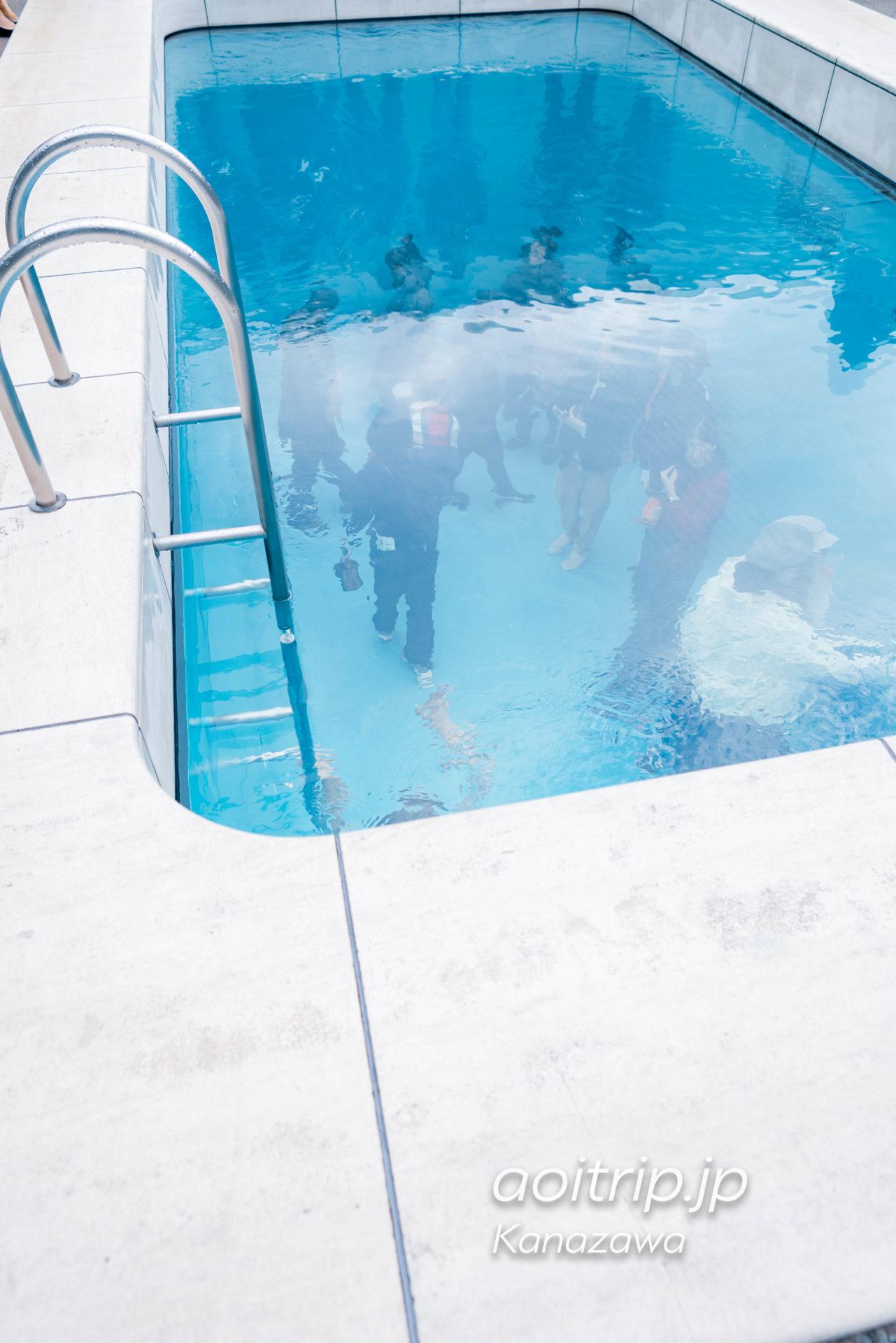 金沢21世紀美術館 21st Century Museum of Contemporary Art, Kanazawa レアンドロのプール Leandro ERLICH The Swimming Pool