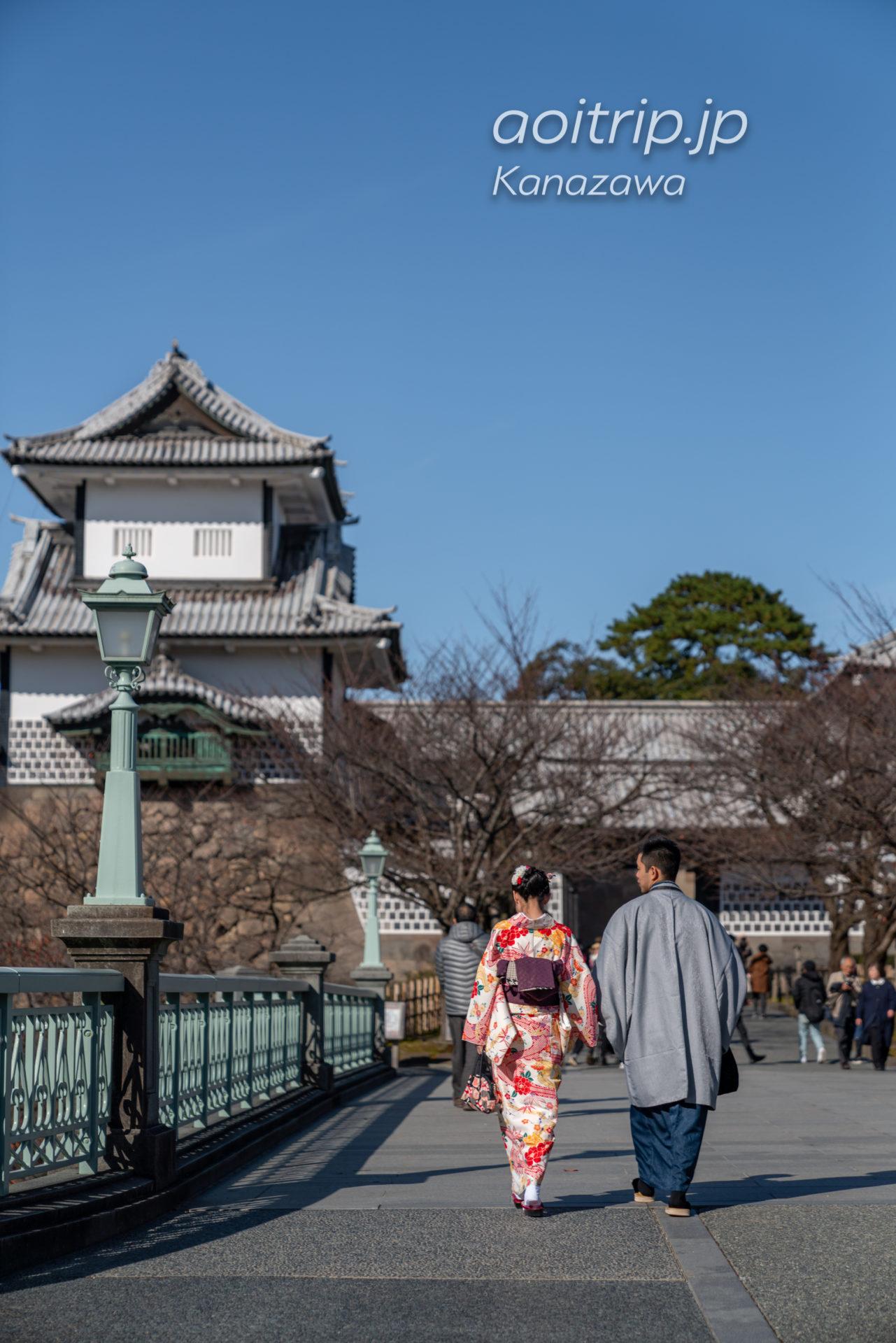 秋の金沢城公園 Kanazawa Castle Park in Autumn