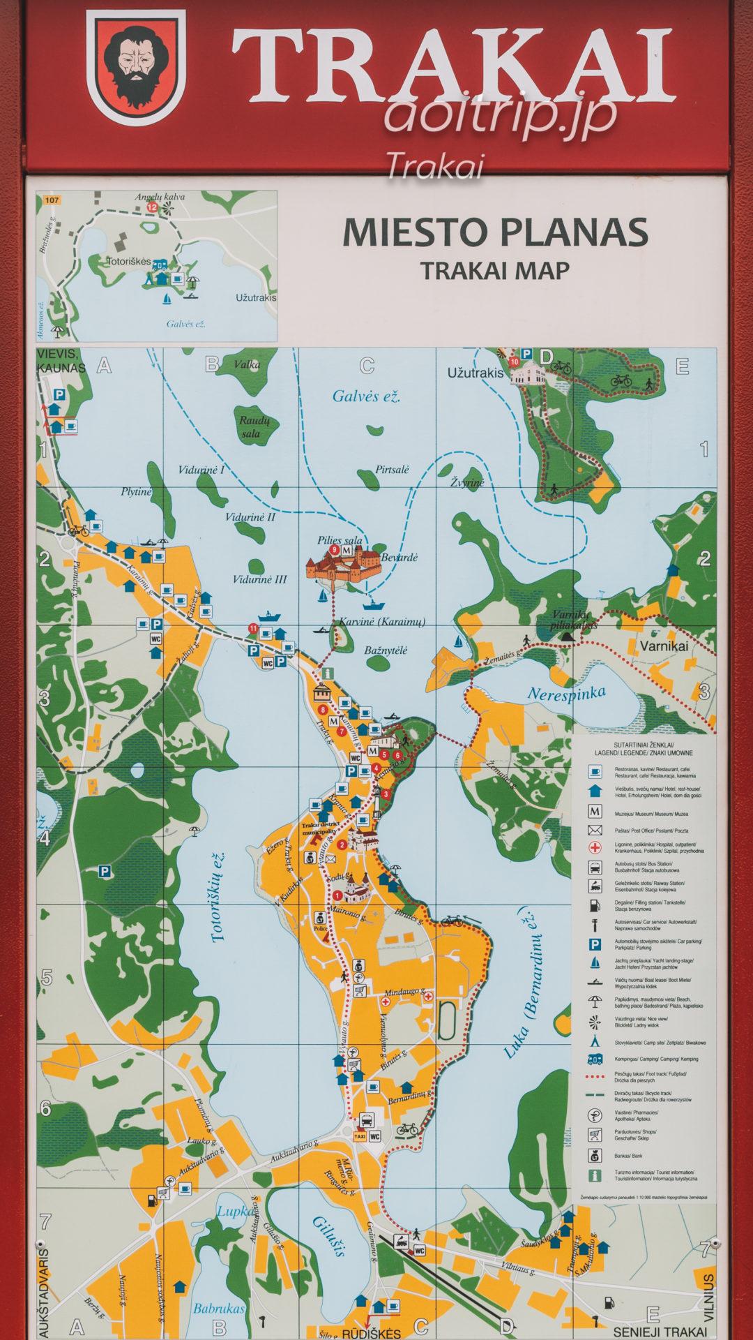 トゥラカイのマップ