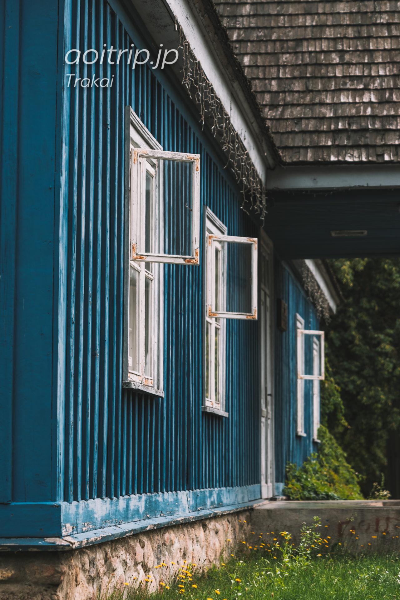リトアニアのトゥラカイ Former Russian Imperial Post Office(19th c.)