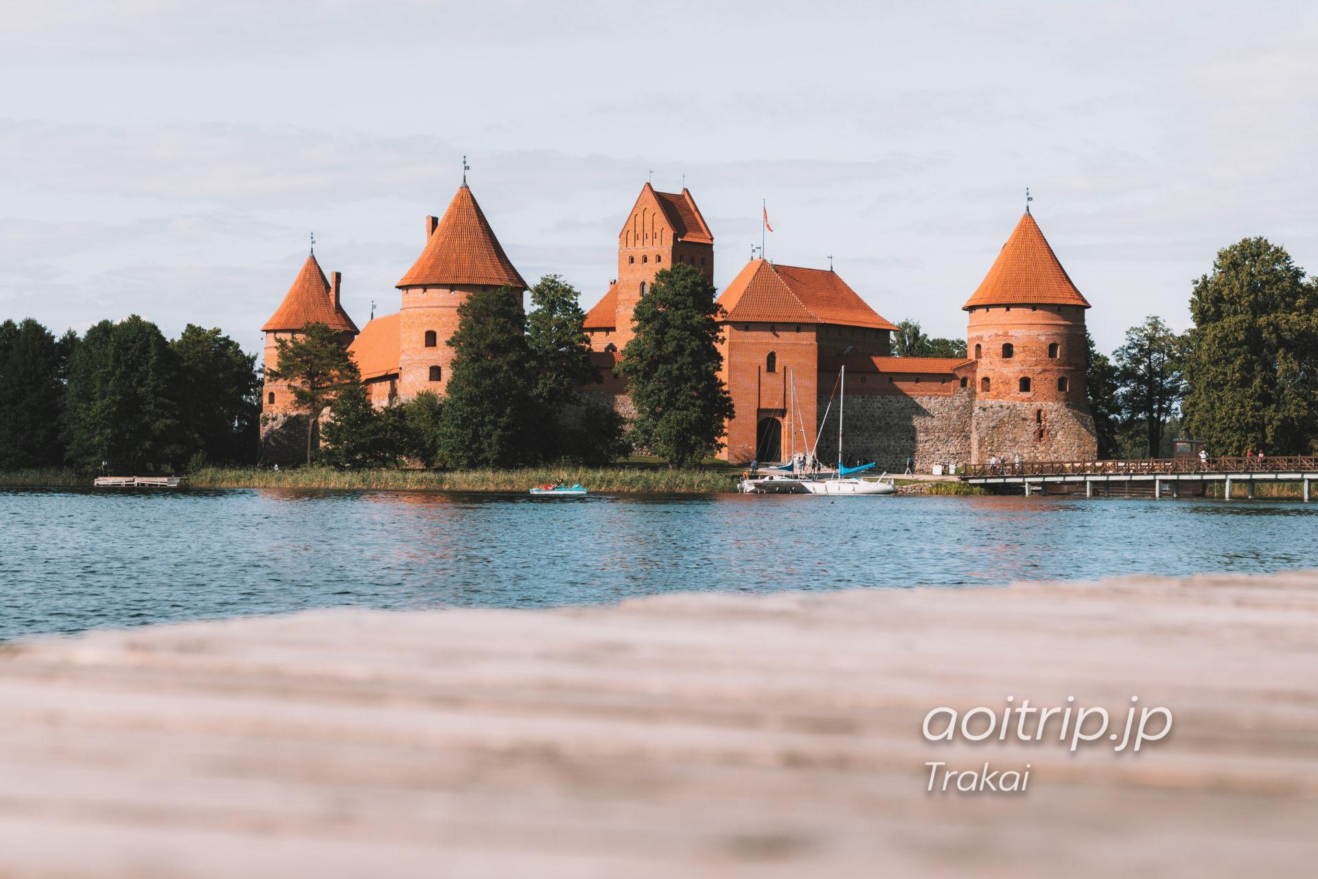 リトアニアのトラカイ城