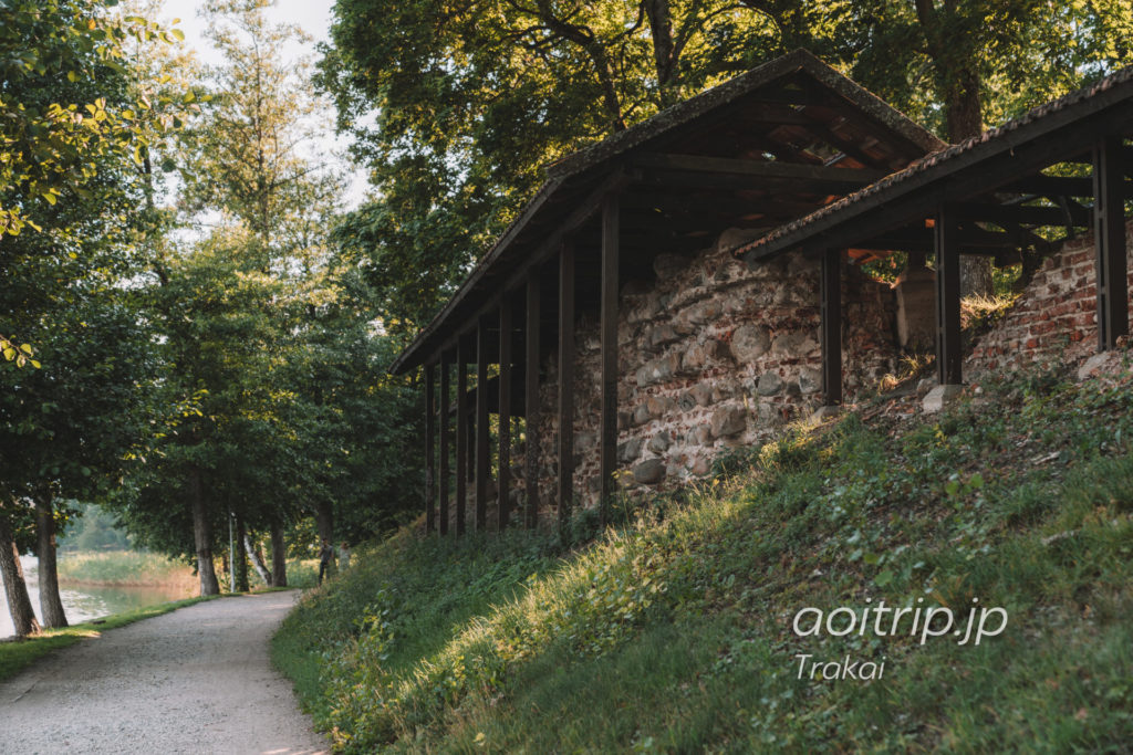 トゥラカイ 半島の城址 Trakų pusiasalio pilis