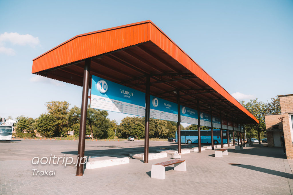 トゥラカイのバスターミナル