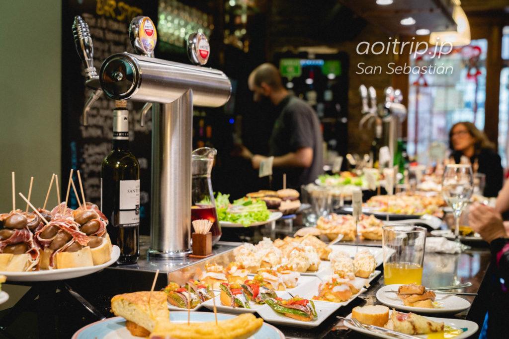 サンセバスティアンのバル Bar Sport