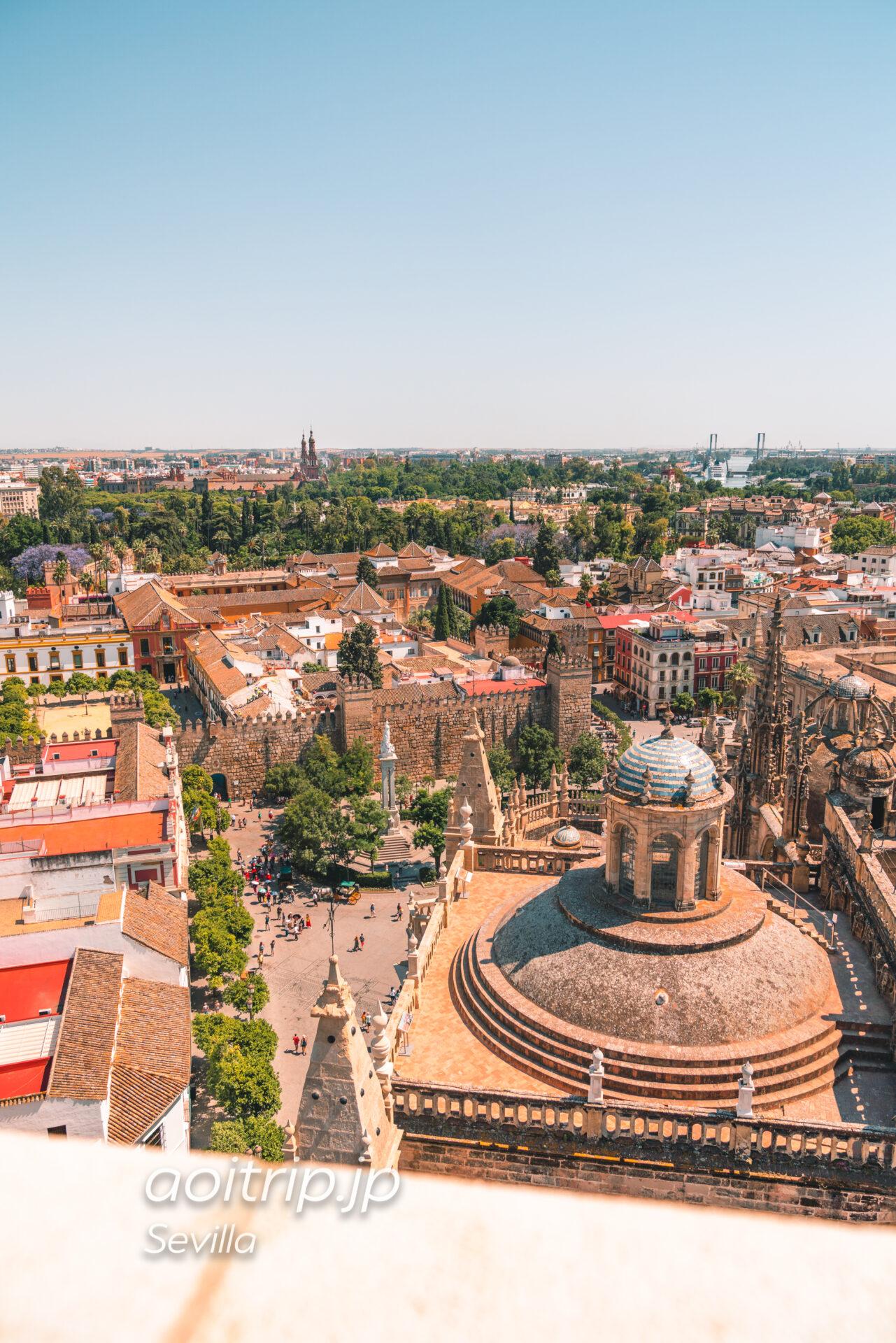 スペイン セビージャのカテドラル ヒラルダの塔