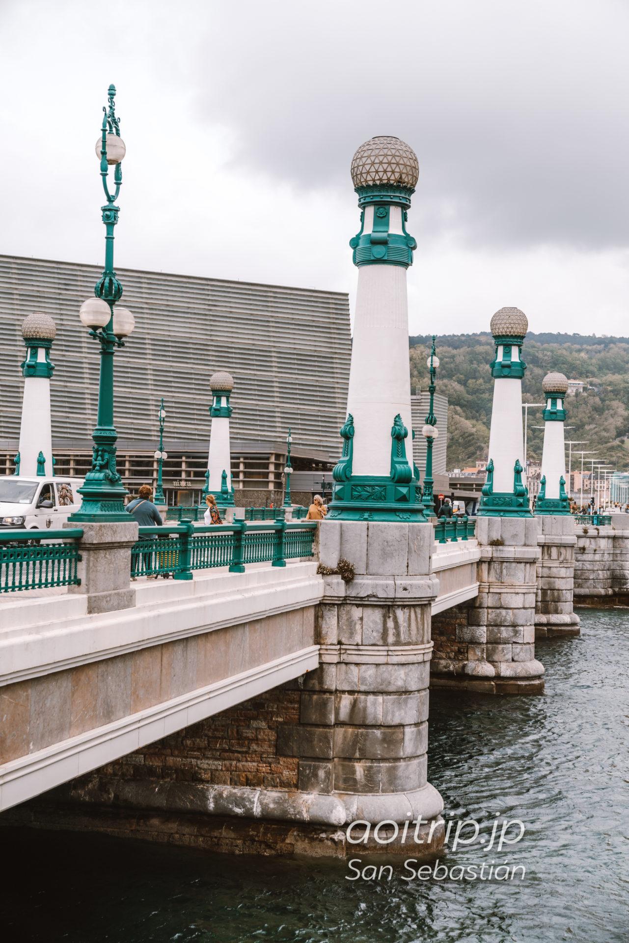 サンセバスチャン ズリオラ橋(Puente de la Zurriola)