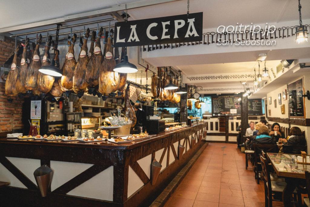 サンセバスティアンのバル La Cepa