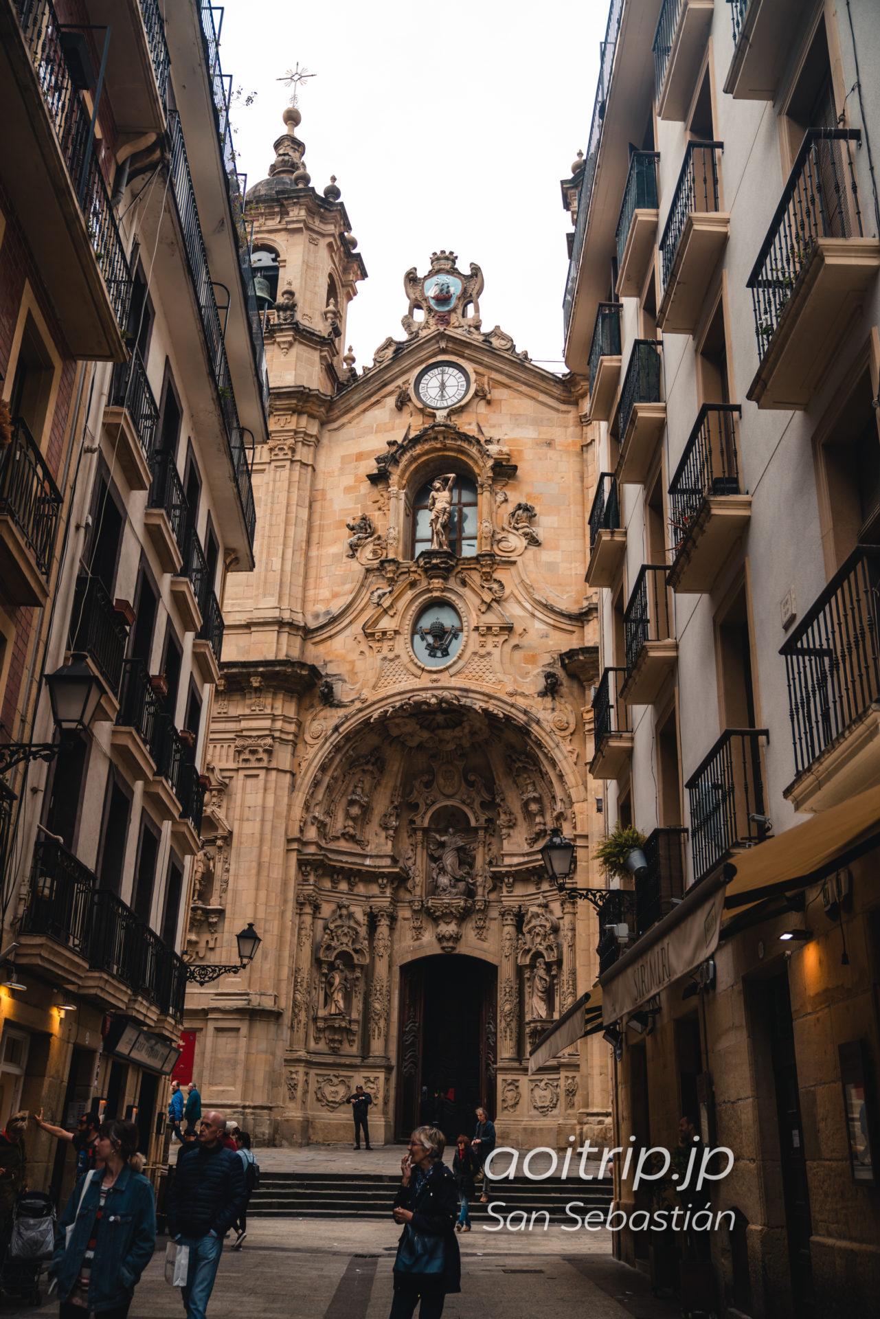 サンセバスティアンのサンタ マリア デル コロ教会