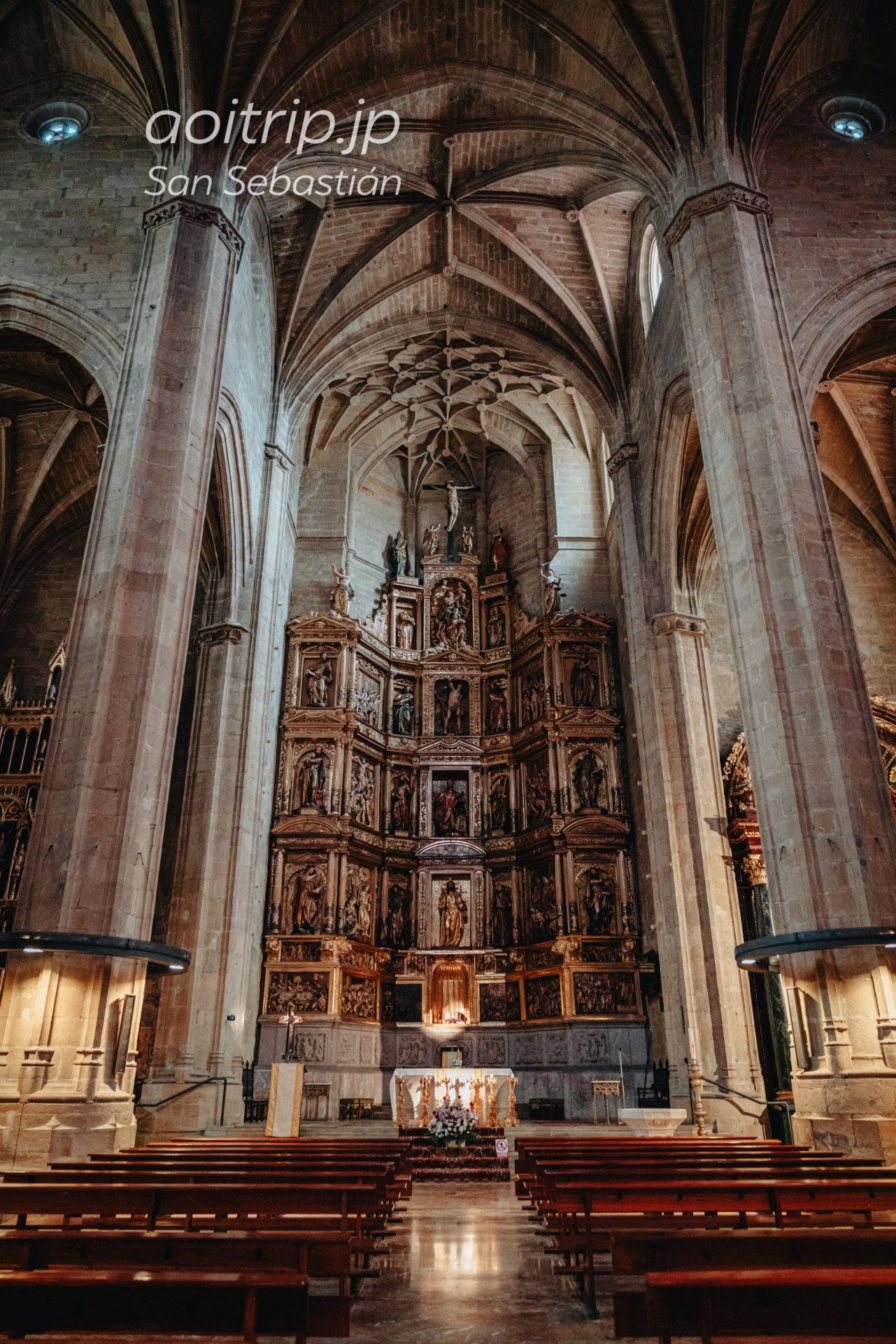 サンセバスティアンのサン ビセンテ教会