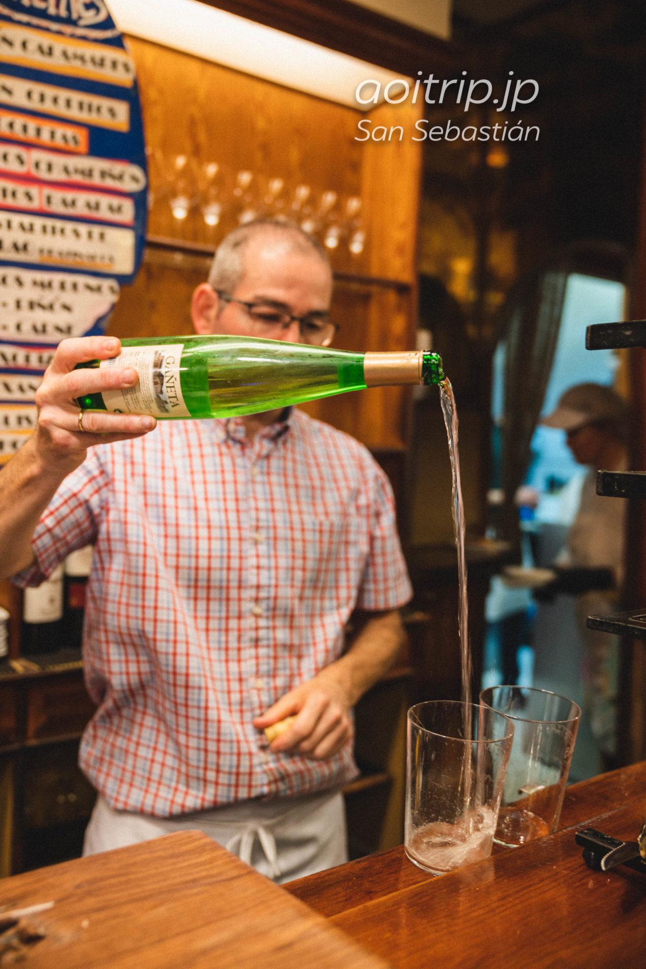 サンセバスティアンのバル Bar Txepetxa