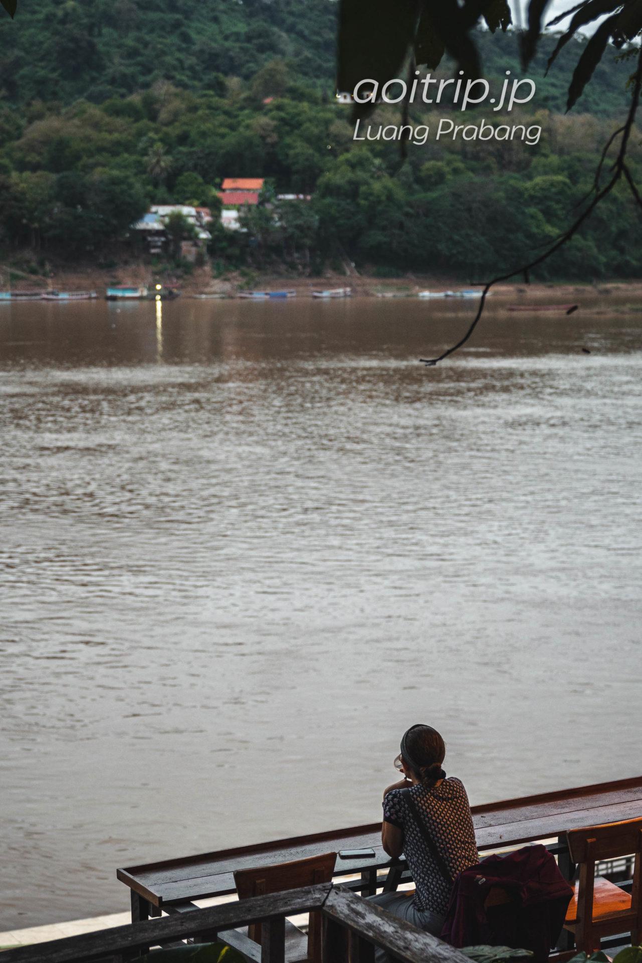 ルアンパバーンのメコン川