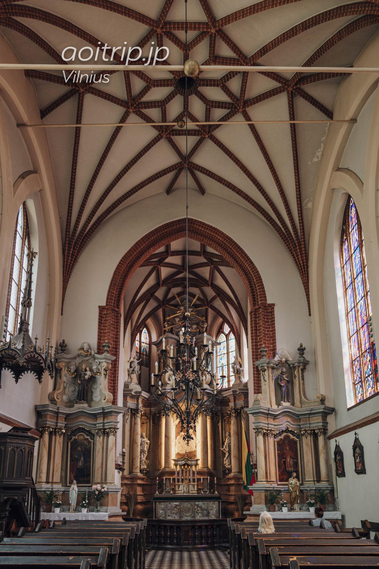 リトアニア ヴィリニュスの聖アンナ教会