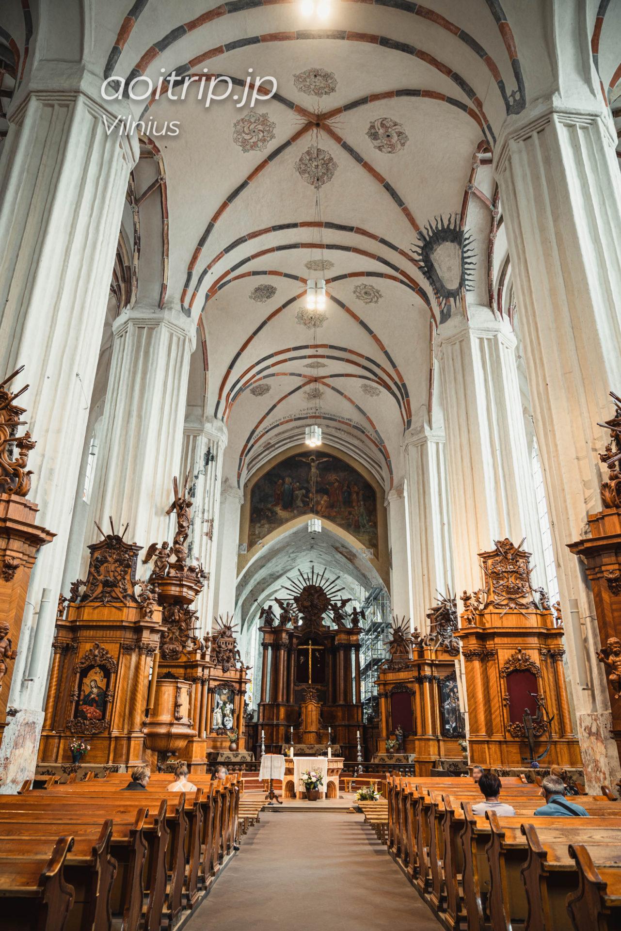 リトアニア ヴィリニュスのベルナルディン教会