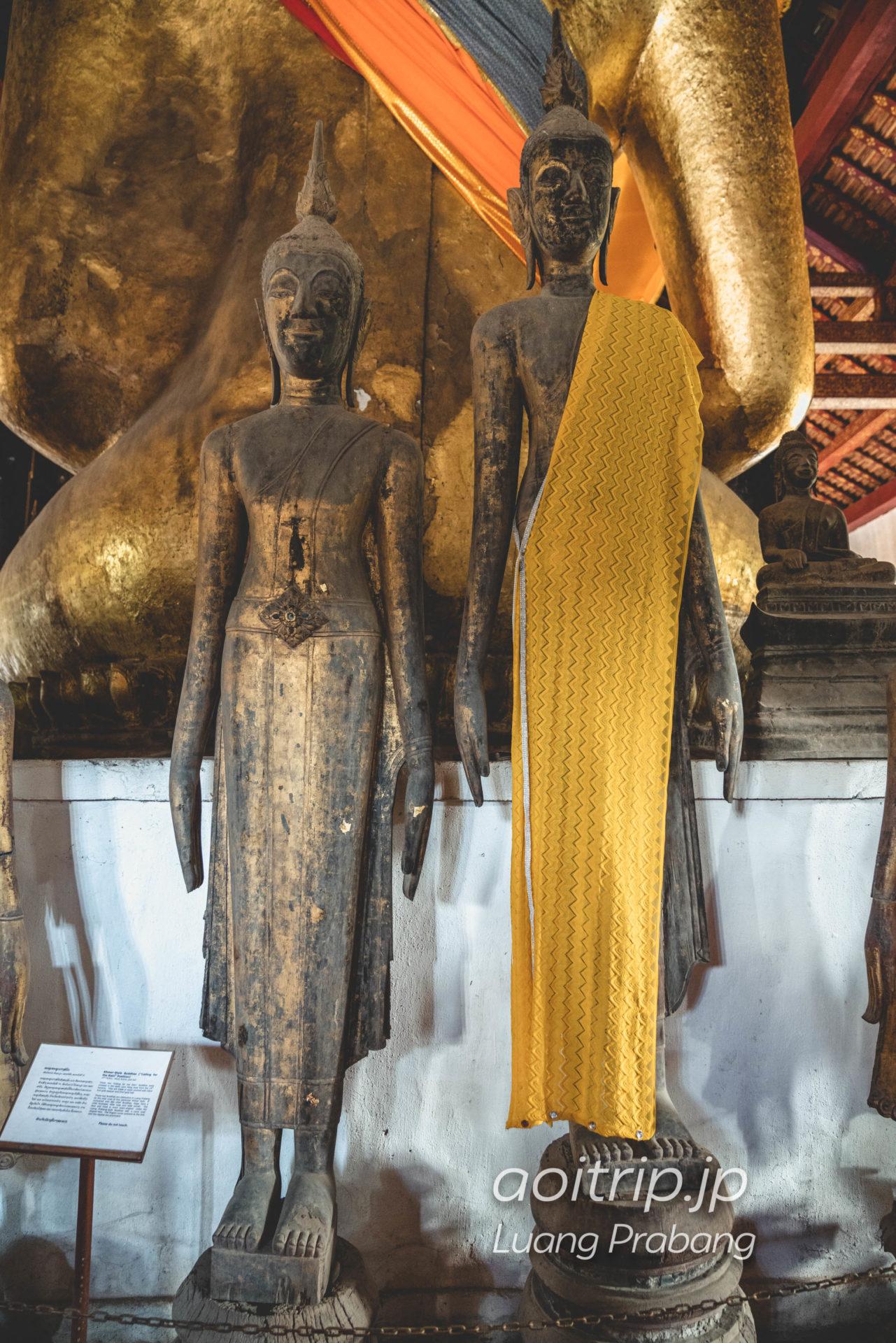 ワット ビスンナラート クメール様式の仏像