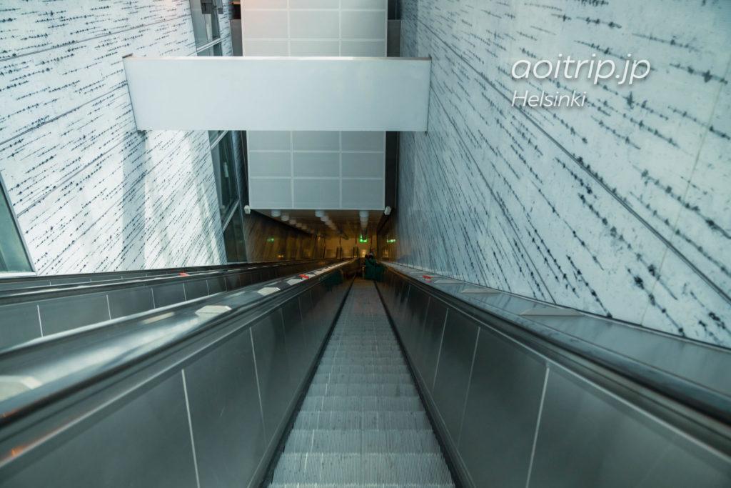 ヘルシンキ国際空港 リング レール ラインの乗り方