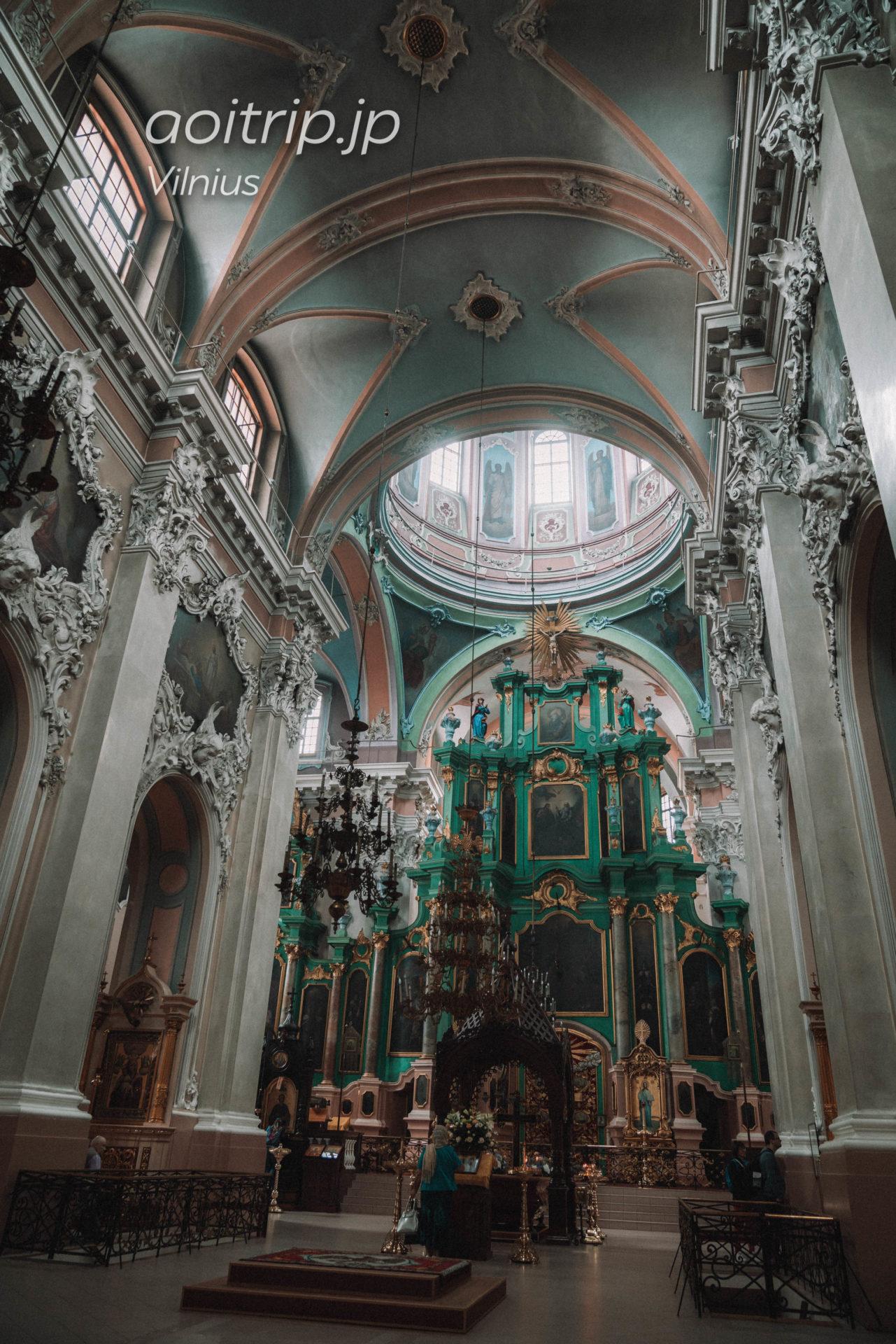 リトアニア ヴィリニュスの聖霊教会